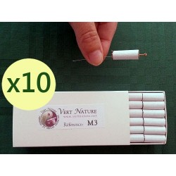 Packung mit 10 Kisten Mini-Moxa M3