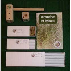 Kit de moxibustión para estudiantes